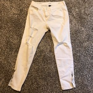 Pants - White jeans